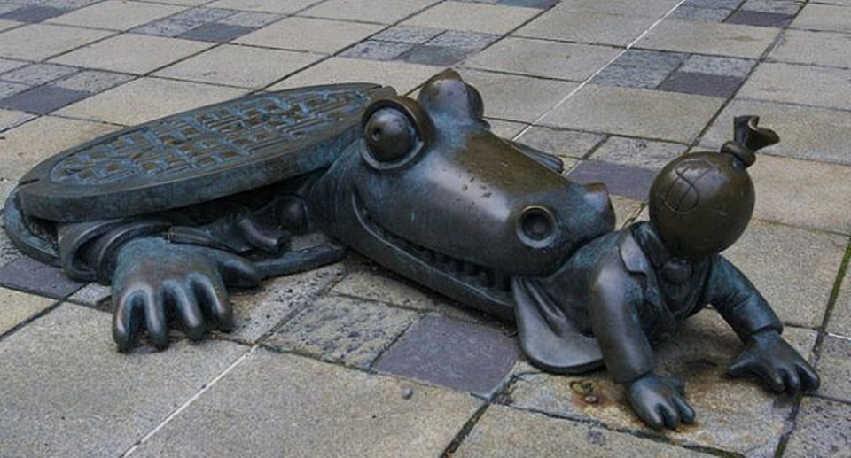 Самые необычные скульптуры. Часть 4