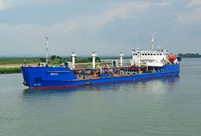 «Поставлял топливо Черноморскому флоту»: Украина арестовала танкер