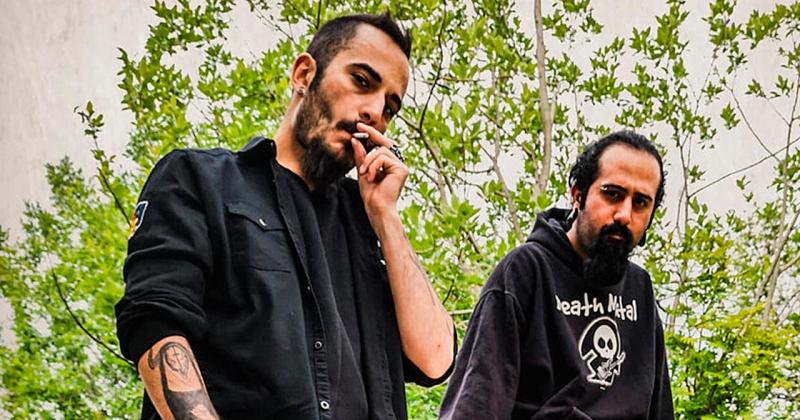 Металлисты из Ирана сбежали в Норвегию, так как им грозит срок