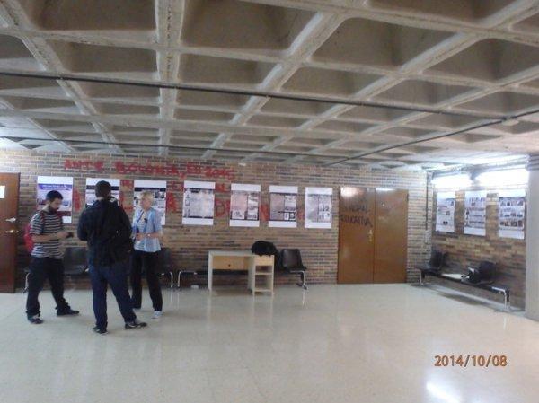 Испанские студенты дали отпор украинским неонацистам в Мадриде