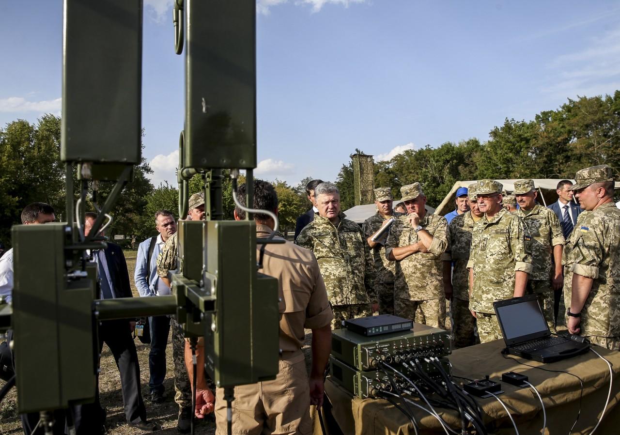 Перспективные средства РЭБ и БЛА вооруженных сил Украины