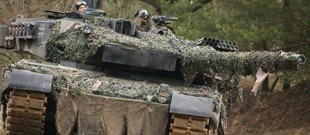 Крик отчаяния: Бундесвер восстановит «ржавые танки» в попытке угнаться за Россией