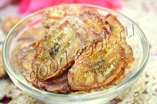 сушеные бананы (банановые чипсы)