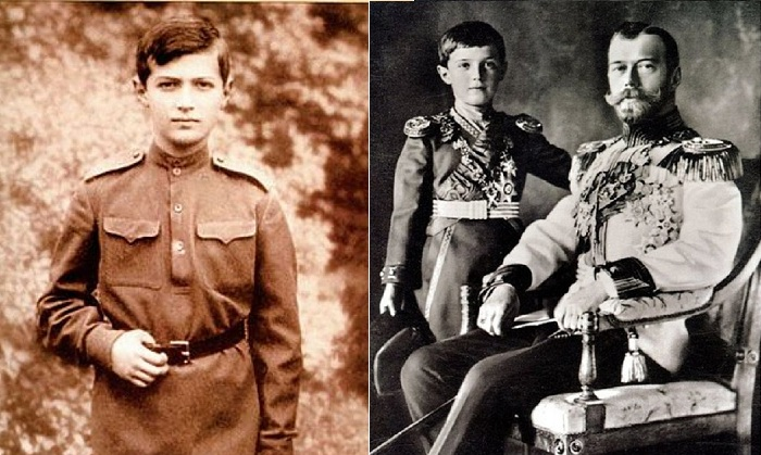 Цесаревич Алексей Николаевич Романов.