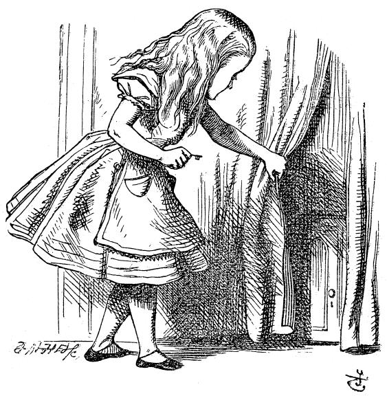 """Иллюстраторы """"Алисы в стране чудес"""". Часть 1-я"""