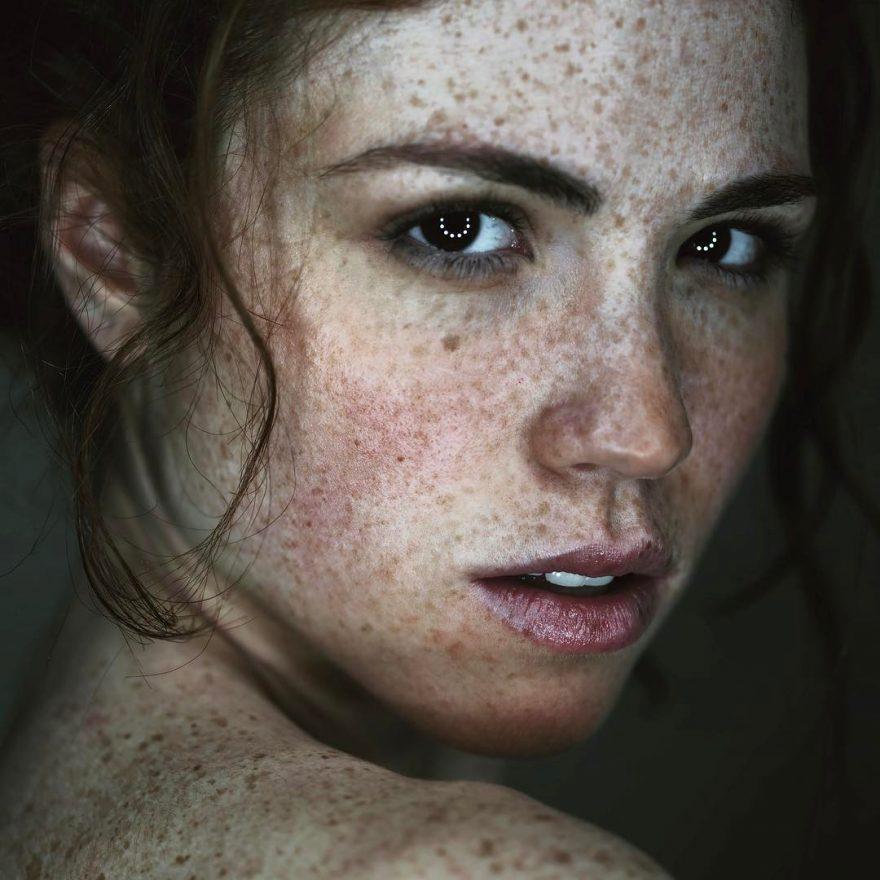 Концептуальная портретная фотография Риккардо Мелосу