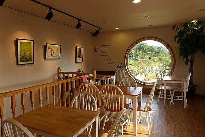 Необычная кофейня в Южной Корее.