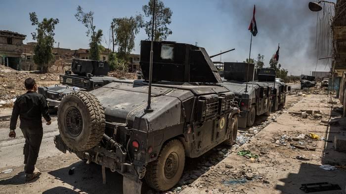 ВС Ирака объявили о захвате города Алтун Купри в Киркуке