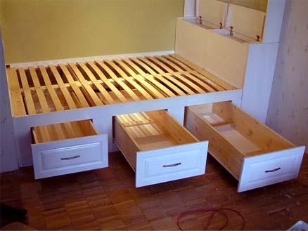 Кровати на подиуме фото своими руками