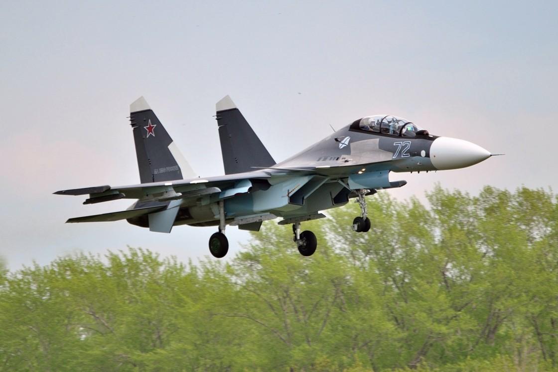 Поставки боевых самолетов в Вооруженные Силы России в 2017 году