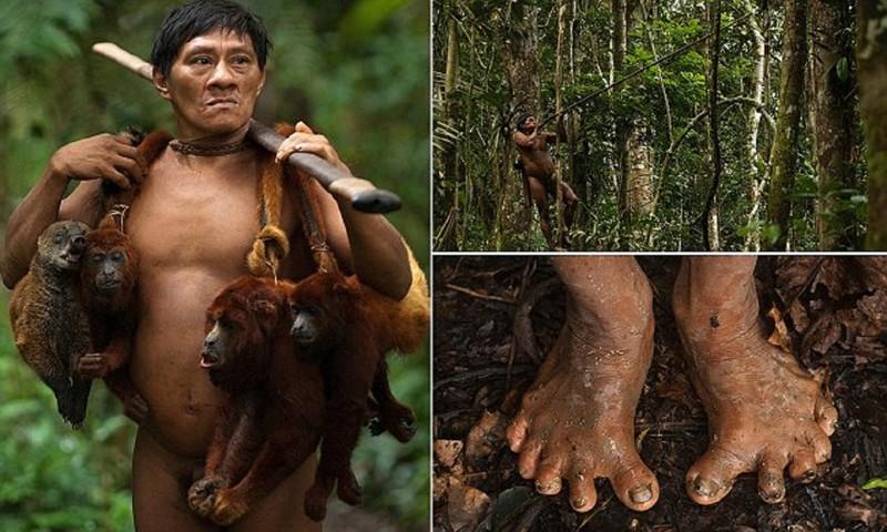 Это амазонское племя до сих пор живет в каменном веке!