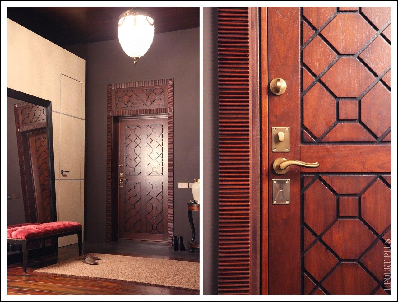 Делаем дизайн двери