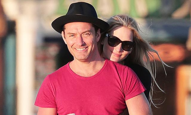 СМИ: Джуд Лоу женится на Филиппе Коан этой весной