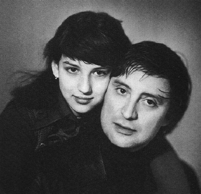 Вениамин Смехов с дочерью Аликой. / Фото: www.1001material.ru