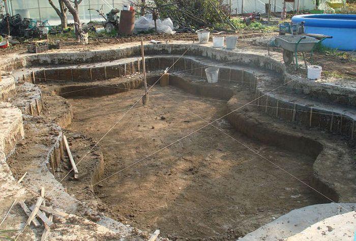 Загородный бассейн своими руками