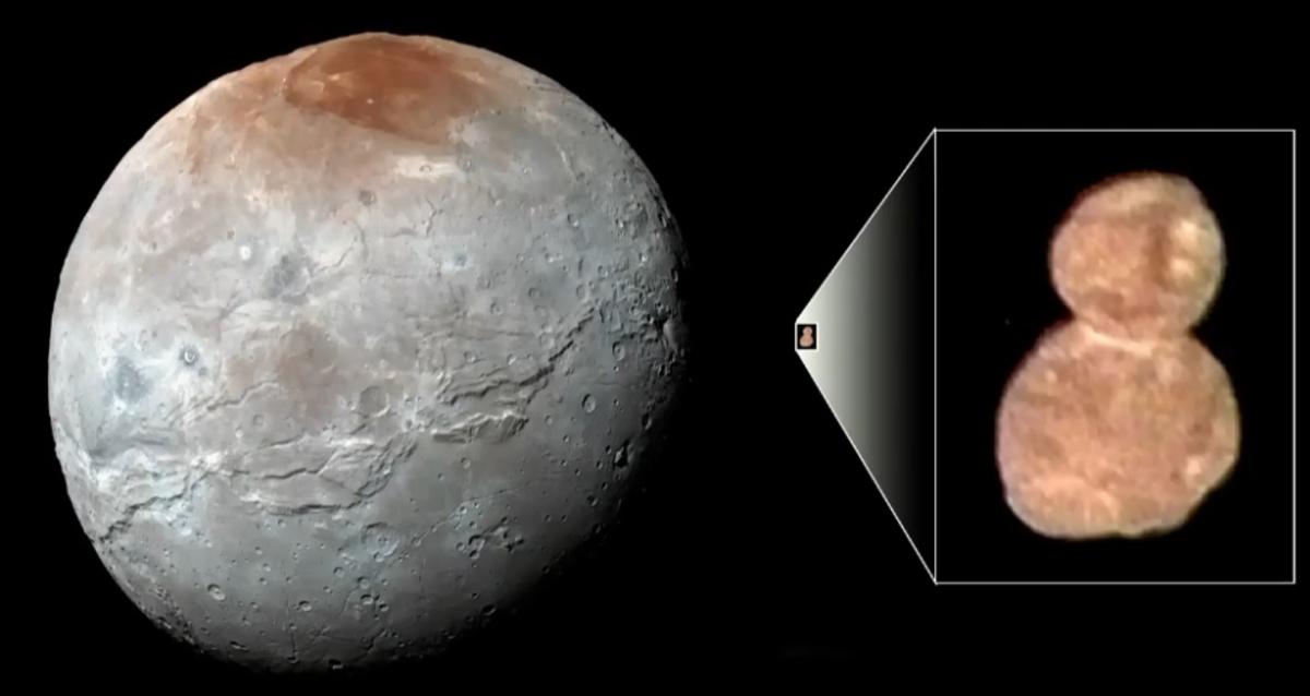 Астероид Ультима Туле похож на снеговика