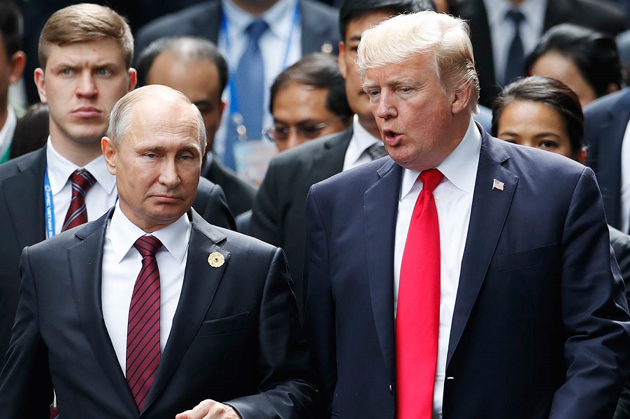 Путин и Трамп поговорили по телефону. Долго