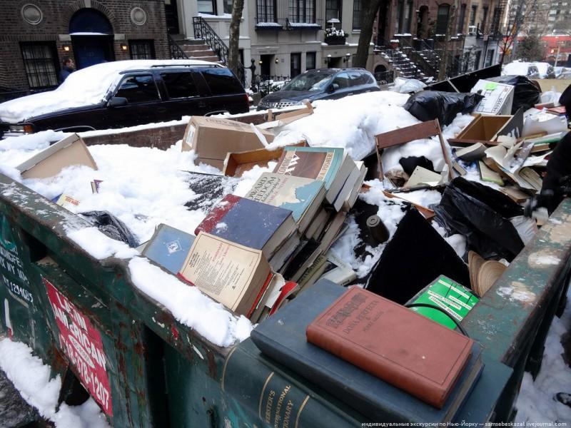Удивительные находки в нью йоркском мусорном контейнере