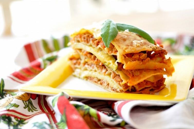 Лазанья Блюда итальянской кухни блюда Италии