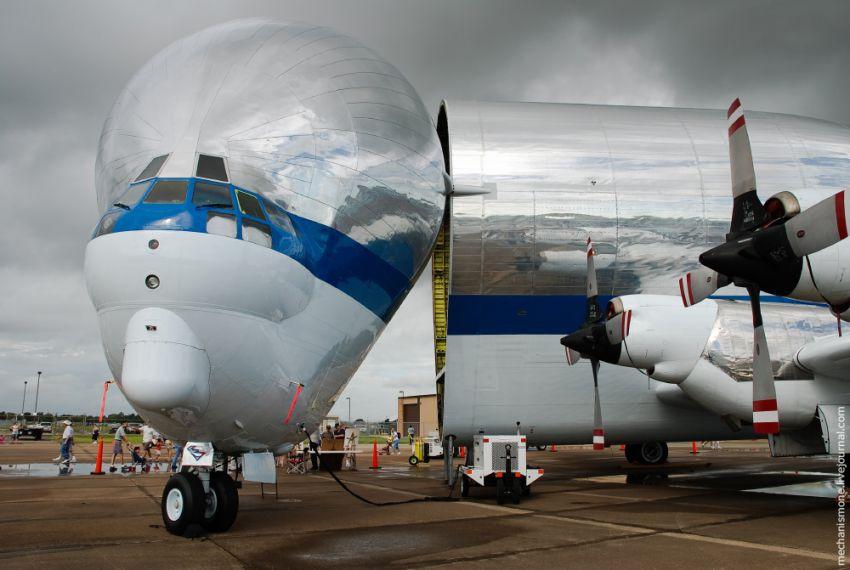 Беременный Боинг или Супер Гуппи B377, Boeing 377, nasa, история, авиация