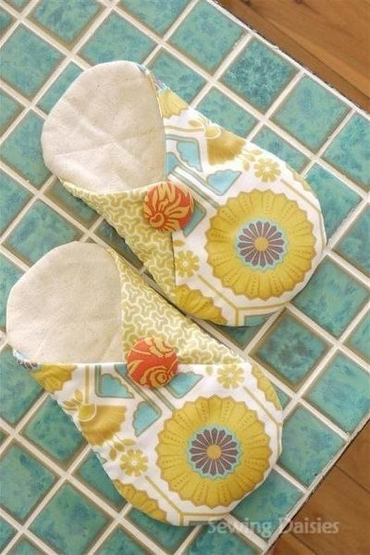 Как легко сшить домашние тапочки своими руками
