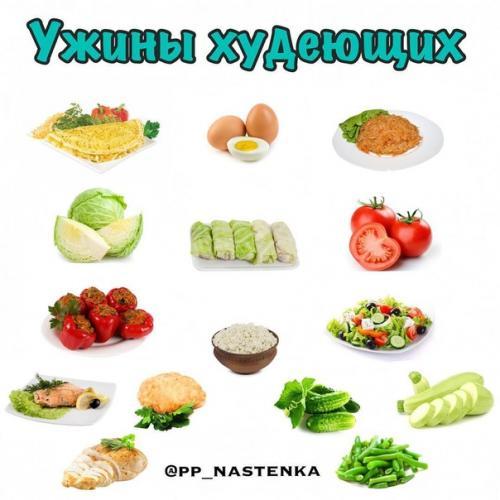 Варианты ужина.  Яйца: омлеты, яичницы, вареные яйца, всмятку, пашот.