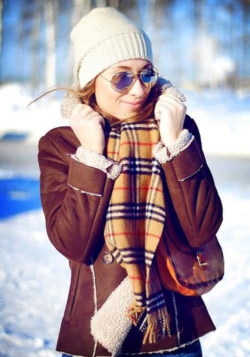 С чем носить дубленку зимой: 13 стильных образов на каждый день