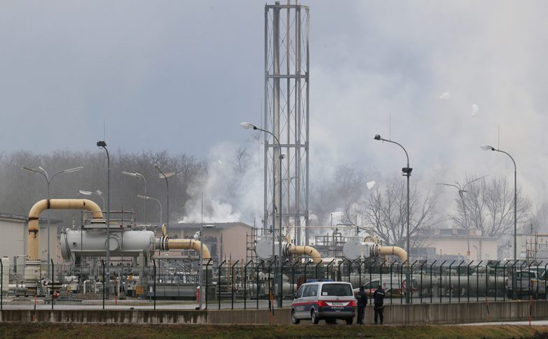 Взрыв в Австрии нарушил поставки российского газа в Европу