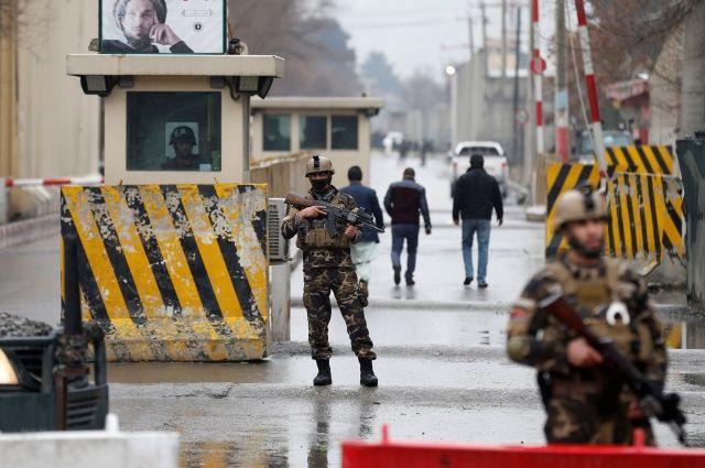 В Кабуле при взрыве в дипломатическом квартале погибли три человека
