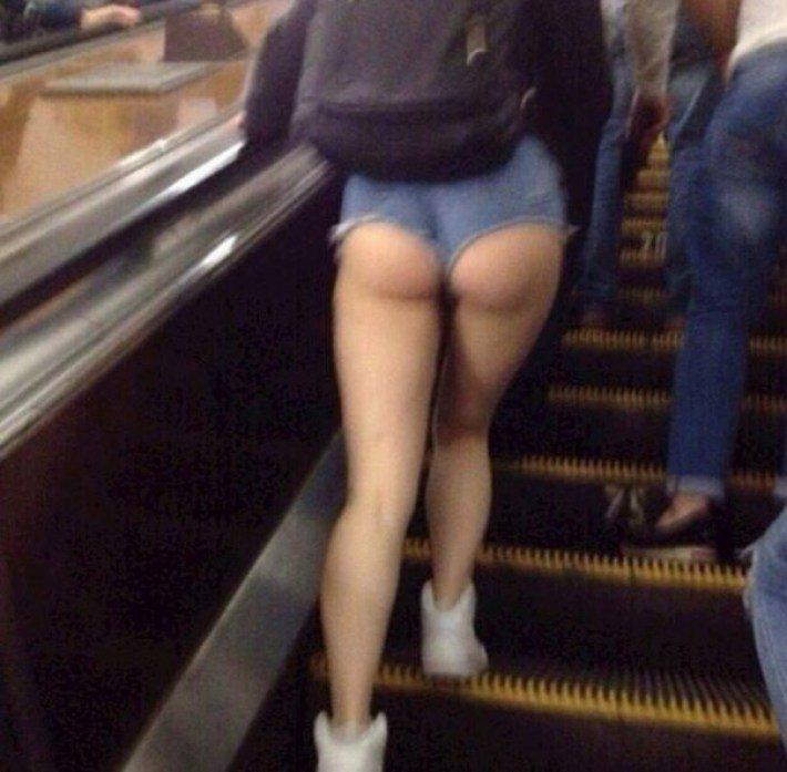 Волшебная мода в метро