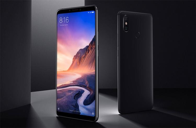 Смартфоны серии Xiaomi Mi Max 4 получат гигантский 7,2