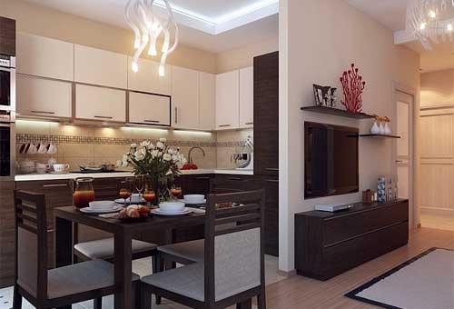 Дизайн однокомнатной квартиры в хрущевке: пример удобной планировки