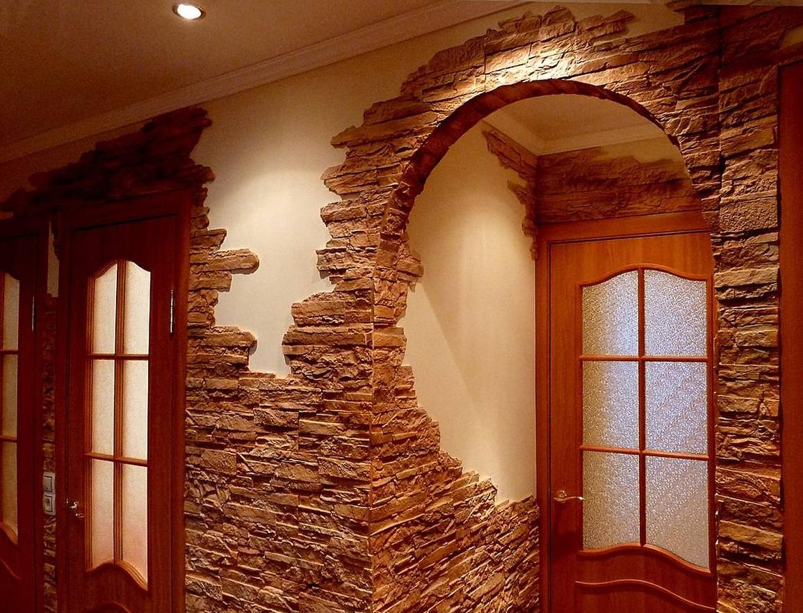 Декоративный камень в отделке квартиры. Как сделать настоящий пень из подручных материалов