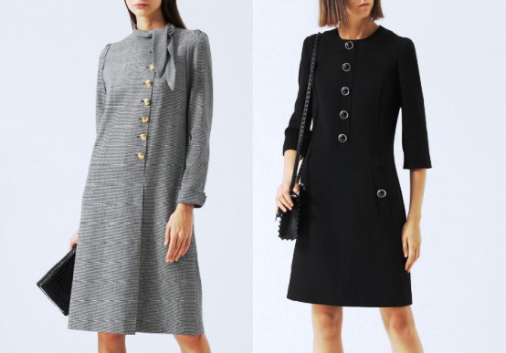Модное шерстяное платье - незаменимая вещь в гардеробе модницы в холодное время года!