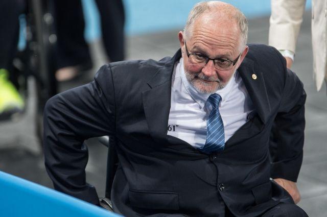 Президент Международного паралимпийского комитета уходит в отставку
