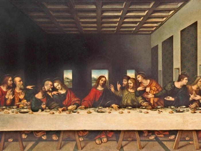 Тайная вечеря. Леонардо да Винчи.