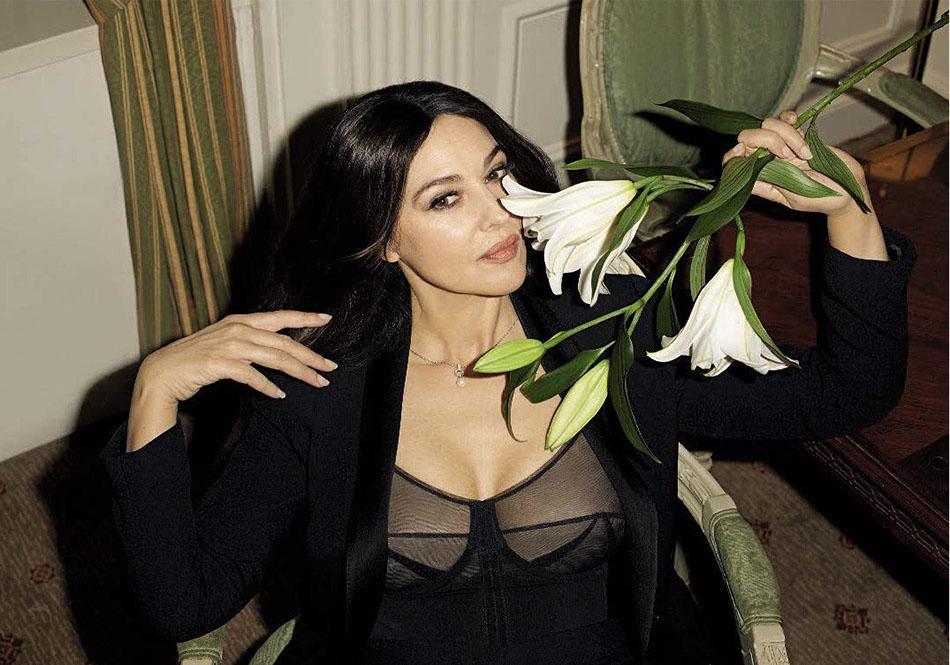 Моника Беллуччи для февральского GQ Italia