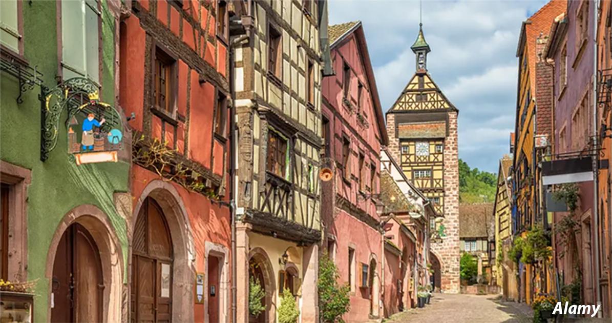 20 Ñамых краÑивых деревень, которые можно найти во Франции