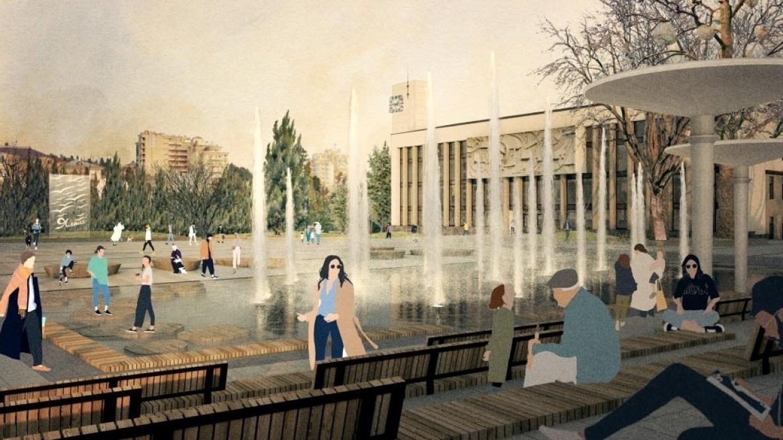 реконструкция площади Советской в Ялте