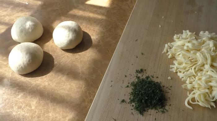 Чебуреки с сыром в духовке Еда, Выпечка, Тесто, Другая кухня, Приготовление, Рецепт, Видео, Длиннопост, Чебурек, Сыр