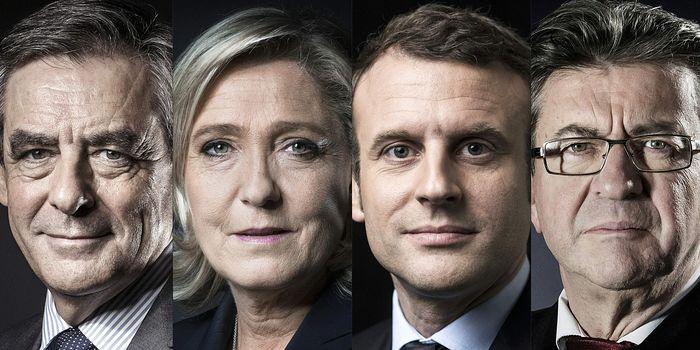 Первый тур выборов во Франции: лидеры определены