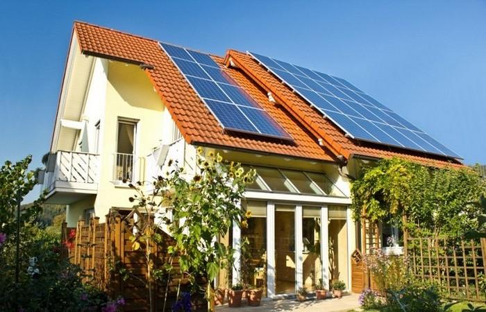 Солнечная система отопления.