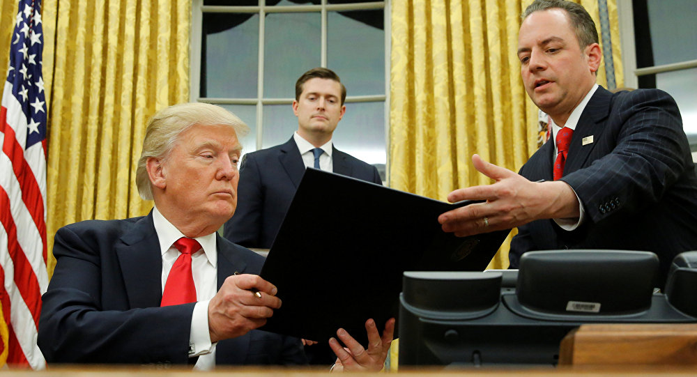 США выходят из Транстихоокеанского партнерства по указу Трампа