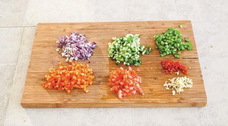 Кесадильи с томатной сальсой закуски,кухни мира