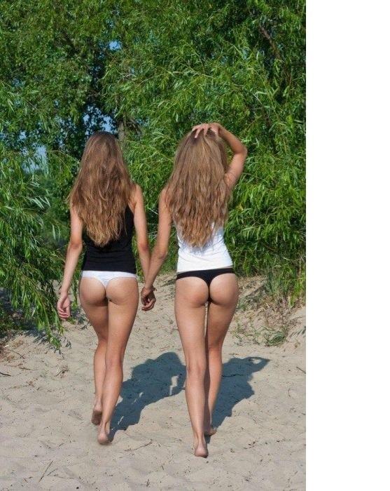 Девушки в стрингах молодые фото