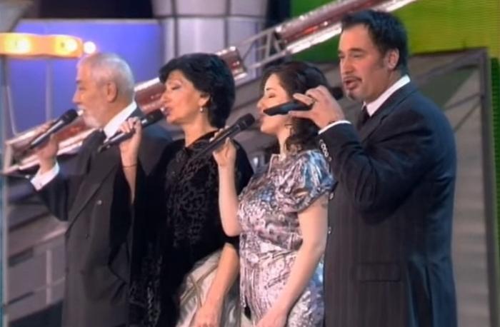 Когда поют грузины: Брегвадзе, Меладзе, Кикабидзе, Гвердцители выступили квартетом