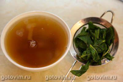 Лимонад из зеленого чая с мятой, Шаг 03
