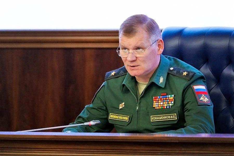 Игорь Конашенков, официальный представитель Министерства обороны Российской Федерации. Источник изображения: https://vk.com/denis_siniy