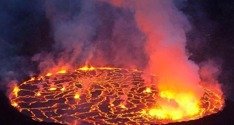 Ньирагонго и Ньямлагира — самые активные вулканы-близнецы на Африканском континенте