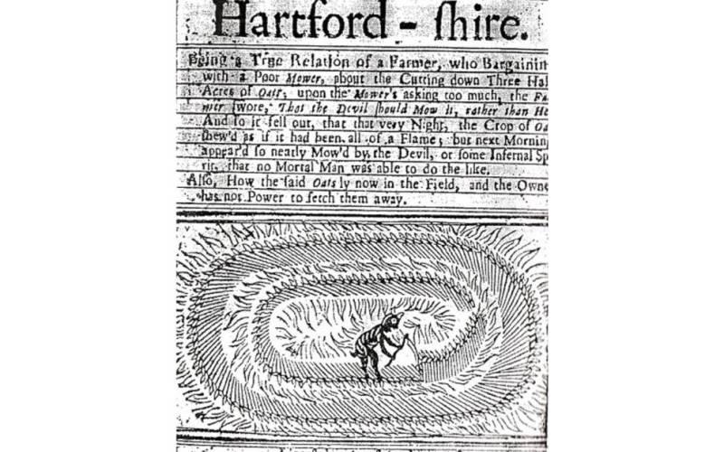 Таинственная история кругов на полях, которые начали появляться в прошлом веке
